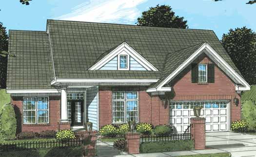 Traditional Style Floor Plans Plan: 11-291
