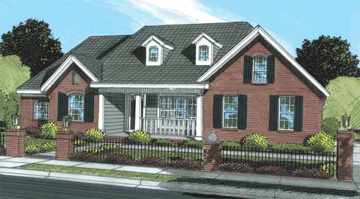 Traditional Style Floor Plans Plan: 11-292