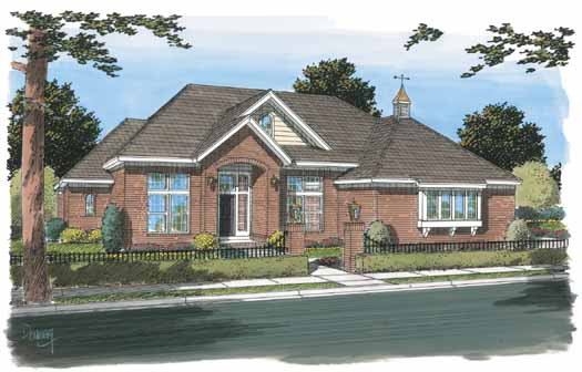 Traditional Style Floor Plans Plan: 11-293