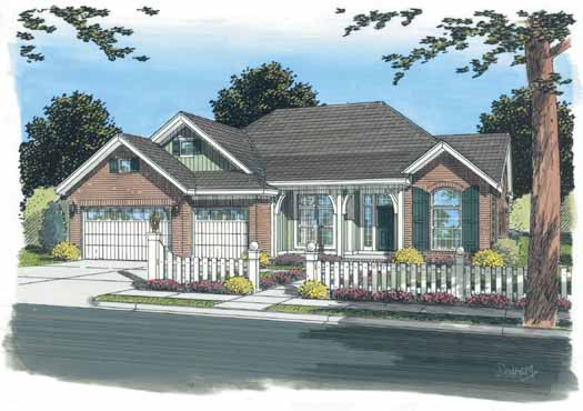 Traditional Style Floor Plans Plan: 11-297