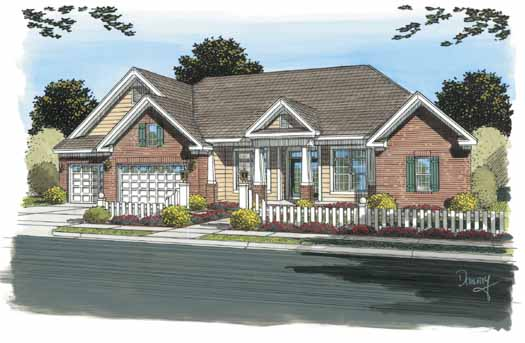 Traditional Style House Plans Plan: 11-300