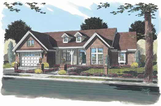 Traditional Style House Plans Plan: 11-302