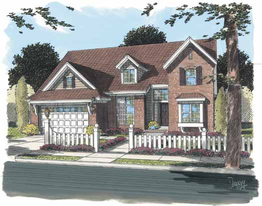 Traditional Style House Plans Plan: 11-303