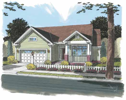 Traditional Style Floor Plans Plan: 11-304