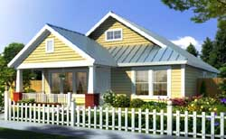 Craftsman Style House Plans Plan: 11-308