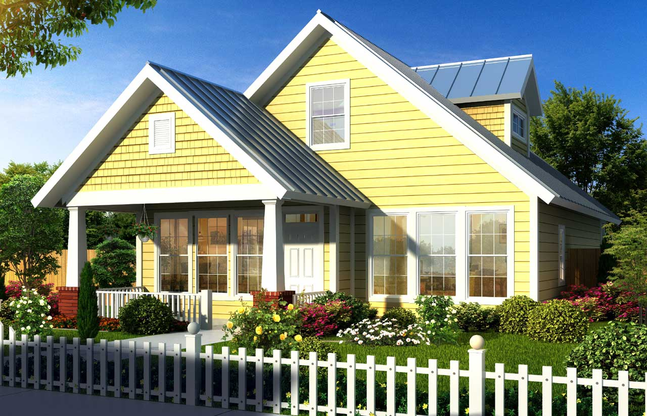 Bungalow Style House Plans Plan: 11-310