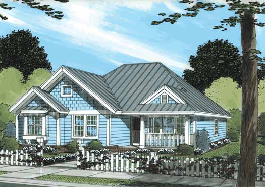 Craftsman Style House Plans Plan: 11-312