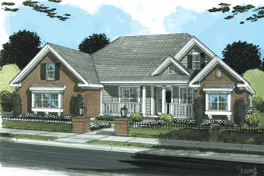 Traditional Style House Plans Plan: 11-320