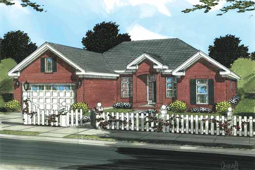 Traditional Style Floor Plans 11-322