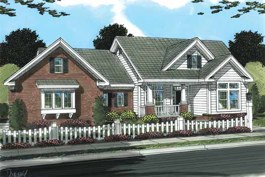 Traditional Style House Plans Plan: 11-323