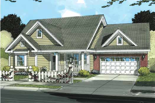 Traditional Style House Plans 11-324