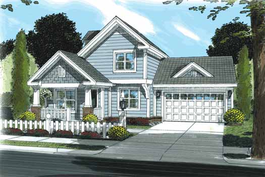 Craftsman Style House Plans Plan: 11-329