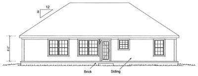 Rear Elevations Plan:11-330