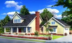 Craftsman Style House Plans Plan: 11-375