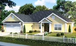 Craftsman Style Home Design Plan: 11-417