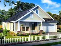 Craftsman Style House Plans Plan: 11-430