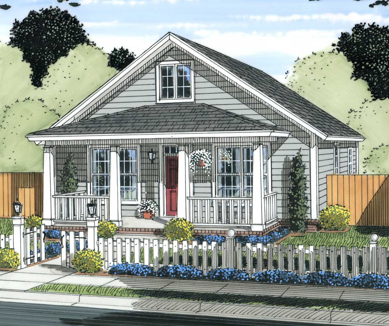 Traditional Style Floor Plans Plan: 11-439