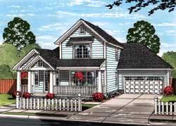 Craftsman Style House Plans Plan: 11-464