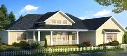 Craftsman Style Home Design Plan: 11-468