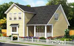 Traditional Style House Plans Plan: 11-493