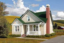 Cottage Style Home Design Plan: 111-121