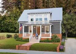 Modern-Farmhouse Style Home Design Plan: 111-123