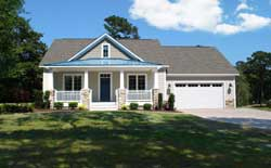 Country Style Floor Plans Plan: 111-128