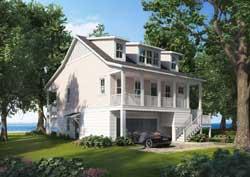 Coastal Style House Plans Plan: 111-143