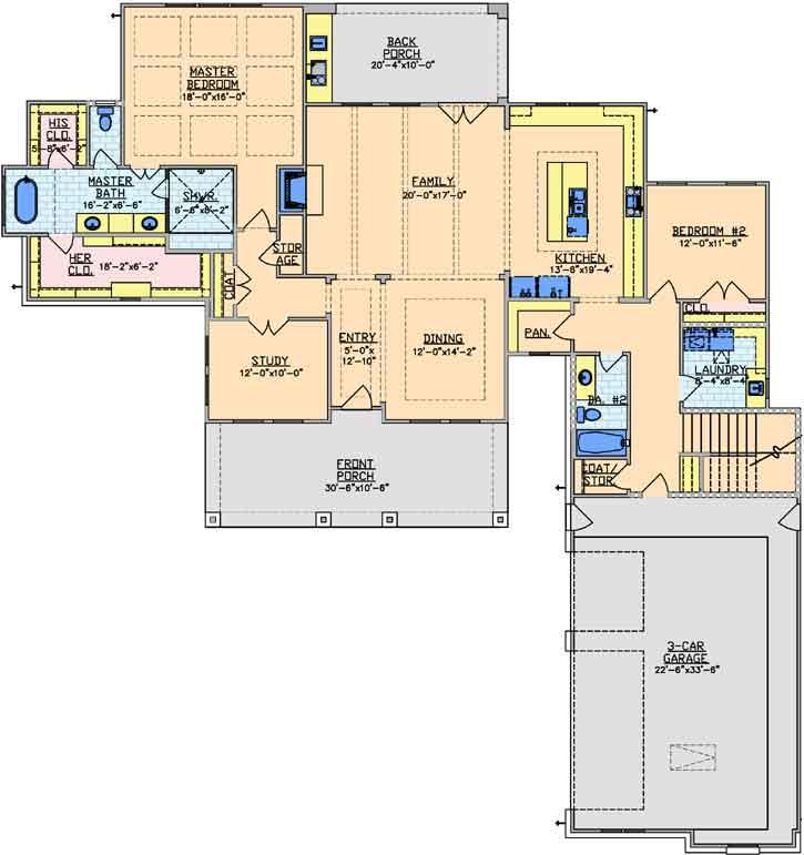Main Floor Plan: 112-101