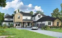 Modern Style House Plans Plan: 112-101