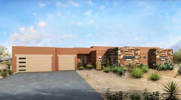Southwest Style Floor Plans Plan: 115-105