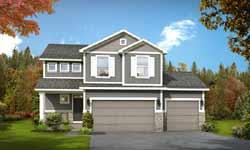 Craftsman Style Home Design 115-107