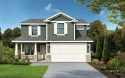 Craftsman Style Home Design 115-109