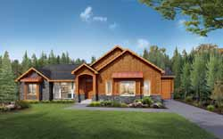 Craftsman Style House Plans 115-110