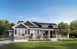 Farm Style House Plans Plan: 115-111