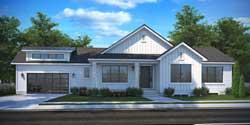 Modern-Farmhouse Style House Plans 115-115