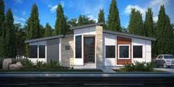 Modern Style House Plans 115-117