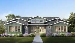 Craftsman Style House Plans 115-121