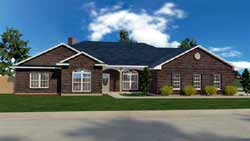 Ranch Style House Plans Plan: 116-103