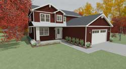 Country Style House Plans 119-106