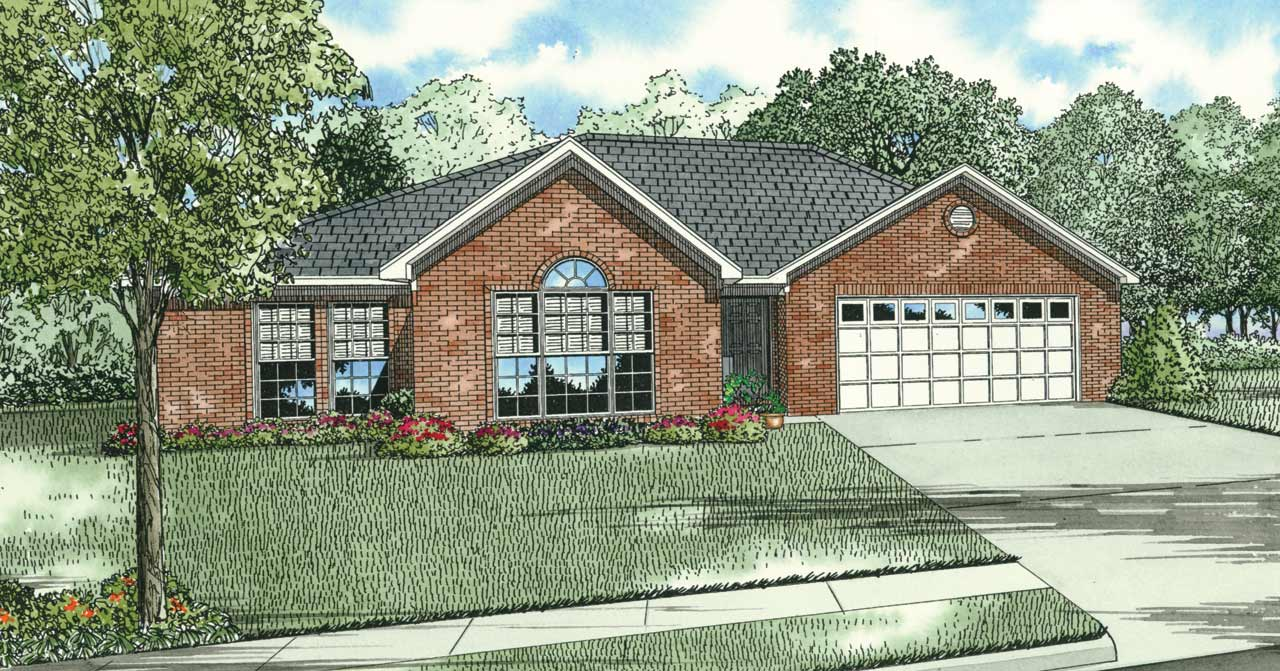 Traditional Style Floor Plans Plan: 12-1001