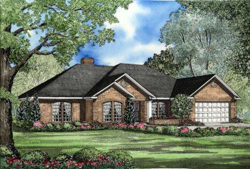 Traditional Style Floor Plans Plan: 12-1008