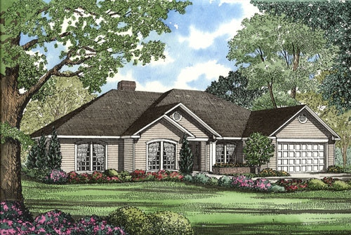 Traditional Style House Plans Plan: 12-1009