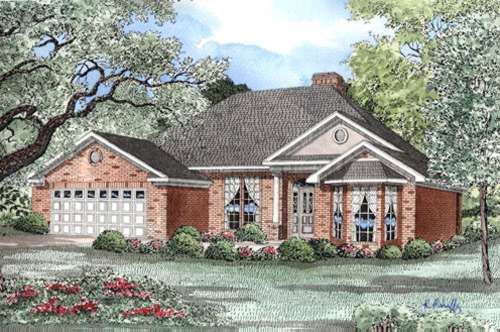 Traditional Style Floor Plans Plan: 12-1012