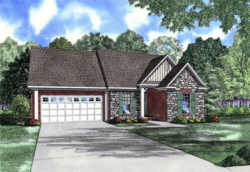 Traditional Style Floor Plans Plan: 12-1020