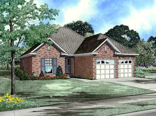 Traditional Style Home Design Plan: 12-1021