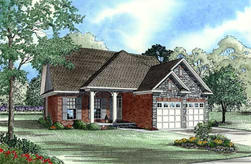 Traditional Style House Plans Plan: 12-1023