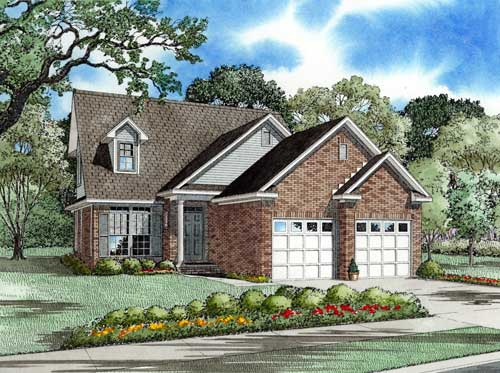Traditional Style Floor Plans Plan: 12-1025