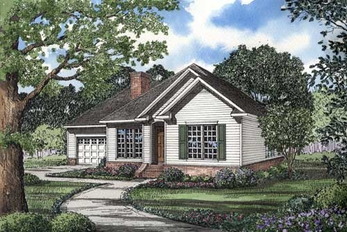 Traditional Style Floor Plans Plan: 12-1026