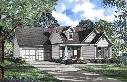 Traditional Style House Plans Plan: 12-1027